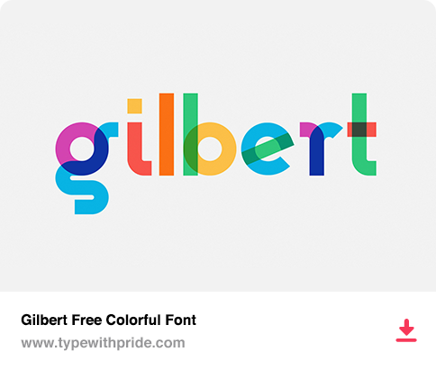 Gilbert Free Color Font